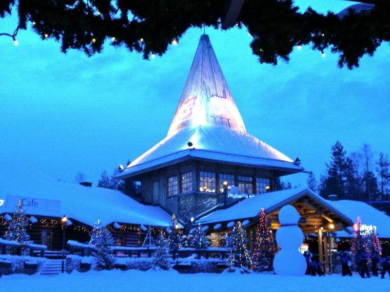Rovaniemi, Santa Claus Village, Santa House, globazinetouch