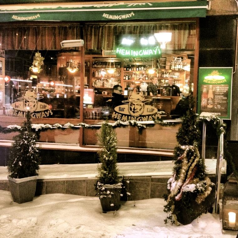 Rovaniemi, Hemingway's Cafè, globazinetouch