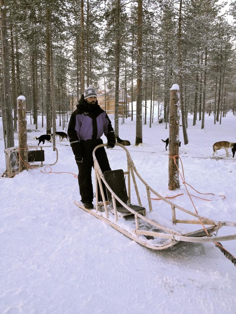 Rovaniemi, Husky Safari, globazinetouch